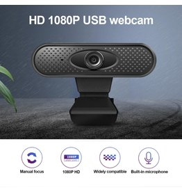 Webcam full hd 1080p pc Hoge usb camera web standaard met microfoon microfoon Digitale videowebcamera voor computer webcam 1080p