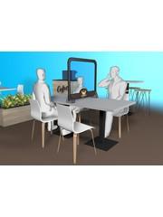 Virupa Hygiëne tafelscherm staand reboard