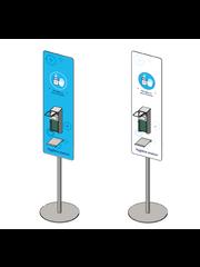 Virupa Desinfectie station compact standaard ontwerp