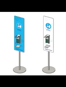 Virupa Hygiëne station compact elleboogdispenser