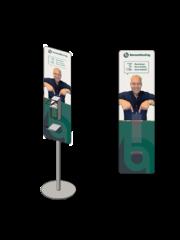 Virupa Desinfectie station compact eigen ontwerp