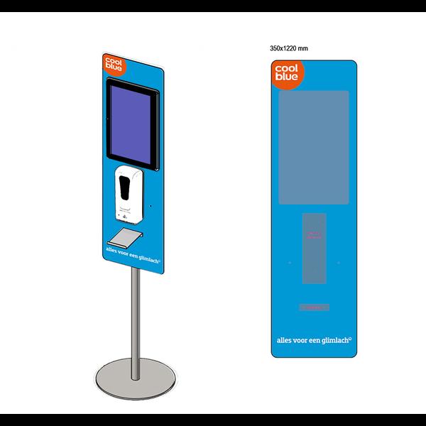 Virupa Hygiëne station compact - Digitaal Scherm - Eigen ontwerp