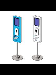 Virupa Hygiëne station compact Digital Signage - Narrowcasting