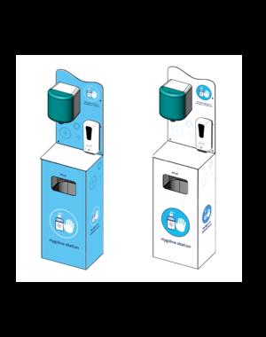Virupa Hygiëne station compleet automatische dispenser