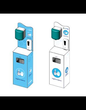 Virupa Hygiëne station compleet automatische dispenser - Met eigen logo