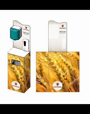 Virupa Hygiëne station compleet automatische dispenser - Eigen ontwerp