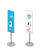 Virupa Hygiëne station compact  automatische dispenser