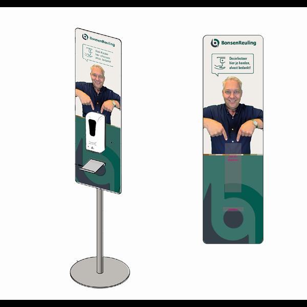 Virupa Hygiëne station compact automatische dispenser - Eigen ontwerp