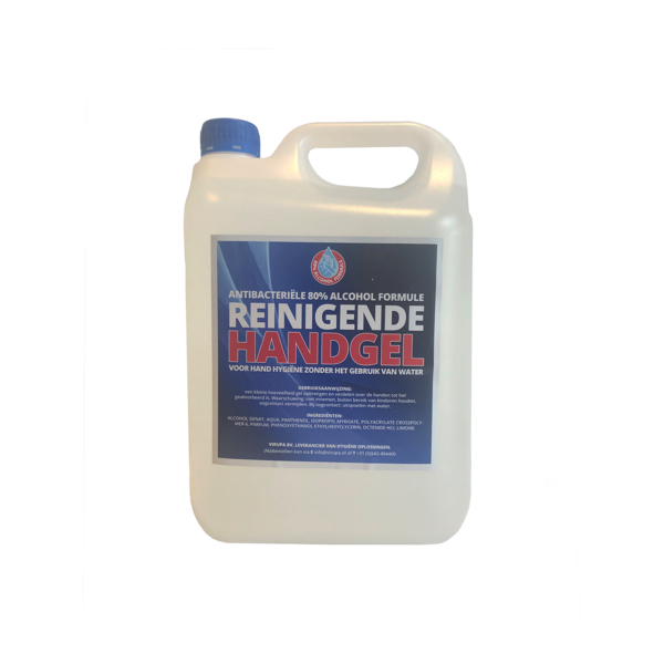 Desinfectie handgel t.b.v. hygiëne stations (80% alcoholformule)