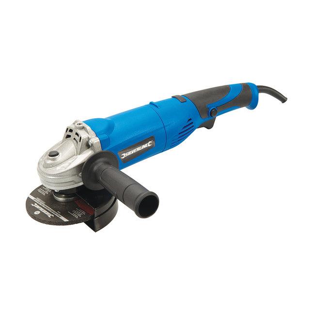 Silverline Haakse slijpmachine - 115 mm - 950 Watt