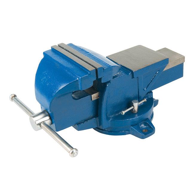 Silverline Draaiende ingenieurs bankschroef, 100 mm Kaak capaciteit: 160 mm, 16 kg