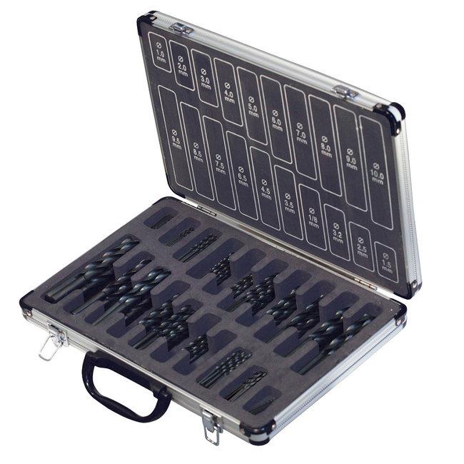 Silverline 170-delige HSS-R boor set 170-delige set
