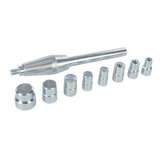 Silverline 9 delige koppeling centreer pen set