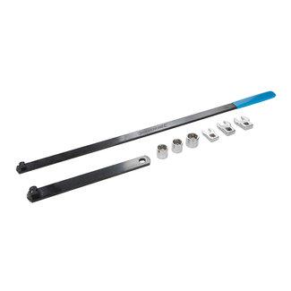 Silverline 8-delige V-snaar sleutel set 8-delige set