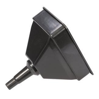 Silverline Trechter met filter 255 x 165 mm