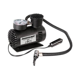 Silverline Mini luchtcompressor 12 V DC