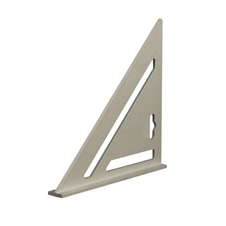 "Silverline Heavy-Duty' aluminium dakbedekkers meetdriehoek 7"" (185 mm)"