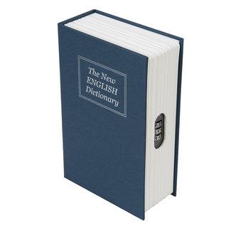 Silverline 3-cijfercombinatie boekenkluis 180 x 115 x 55 mm