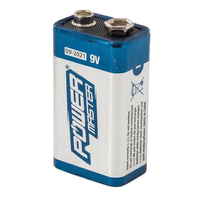 Powermaster 9 V super alkaline batterij 6LR61 1 stk.