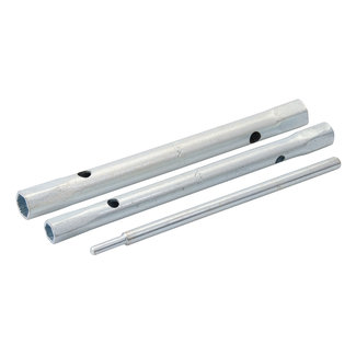 Silverline 3-delige mengkraan aansluitmoersleutel set 9/11 en 12/13 mm