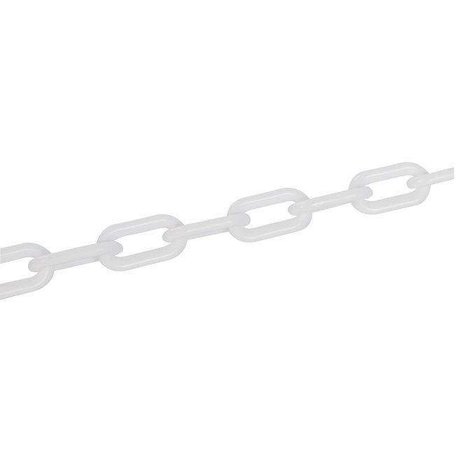 Fixman Plastic ketting 6 mm x 5 m, wit