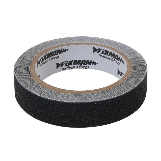 Fixman Antislip tape 24 mm x 5 m, zwart