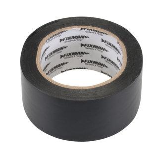 Fixman Isolatietape 50 mm x 33 m, zwart