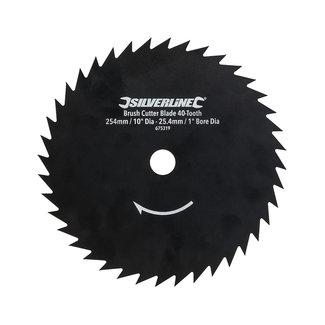 Silverline Bosmaaiermes met 40 tanden 254 mm / asgat 25,4 mm dia.