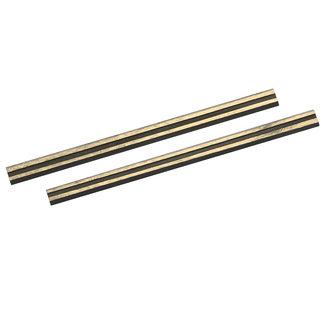 Silverline Hardmetalen schaafmachine bladen, 2 pak 80 x 5,5 x 1,1 mm