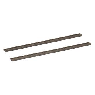 Silverline Hardmetalen schaafmachine bladen, 2 pak 82 x 5.5 x 1,1 mm