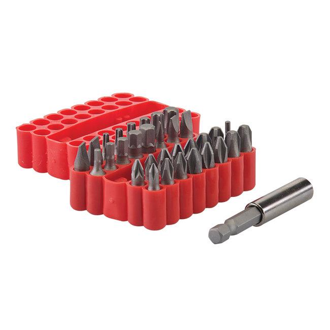 Silverline 33 delige schroevendraaier bit set 25 mm