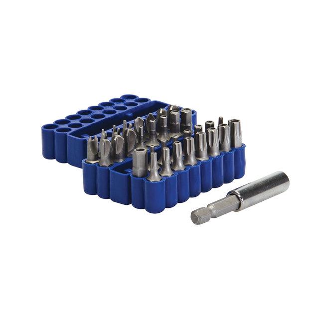 Silverline 33 delige veiligheid bit set 25 mm