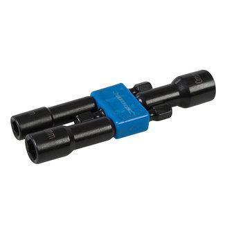 Silverline 3 delige magnetische dopsleutel set 6, 8 en 10 mm