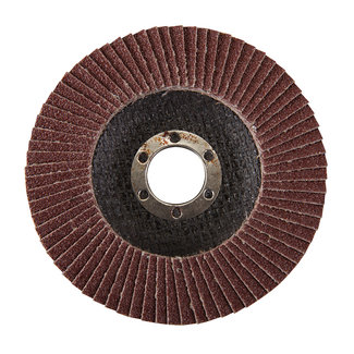 Silverline Aluminiumoxide lamellenschijf 115 mm, 60 korrelmaat
