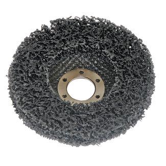 Silverline Polycarbide staalborstel wiel 115 mm, 22,23 asgat