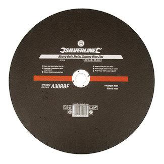 Silverline Heavy-Duty' metaalsnijschijf, plat 355 x 3,2 x 25,4 mm