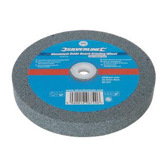 Silverline Aluminiumoxide tafelslijpmachinewiel 150 x 20 mm, fijn