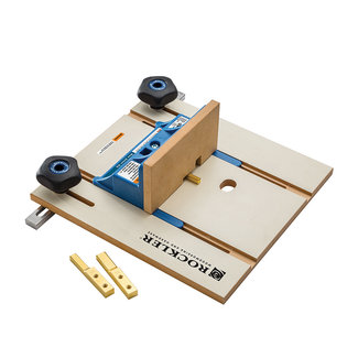 "Rockler Freestafel verbindingsmal 6,35 mm (1/4"") / 9,5 mm (3/8"")/ 12,7 mm (1/2"")"