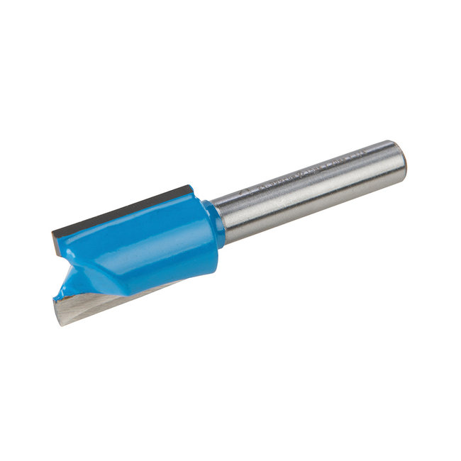 Silverline 1/4 rechte metrische groeffrees 15 x 20 mm
