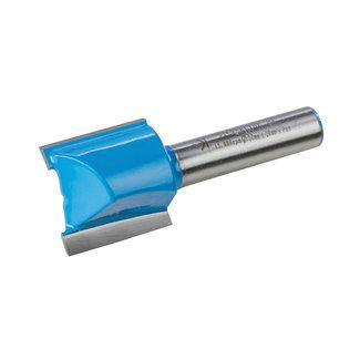 Silverline 8 mm rechte metrische groeffrees 20 x 20 mm