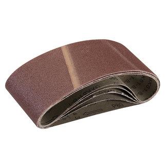 Silverline Schuurbanden 75 x 457 mm, 5 pak 80 korrelmaat