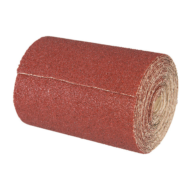 Silverline Aluminiumoxide schuurpapier rol, 10 m 120 korrelmaat