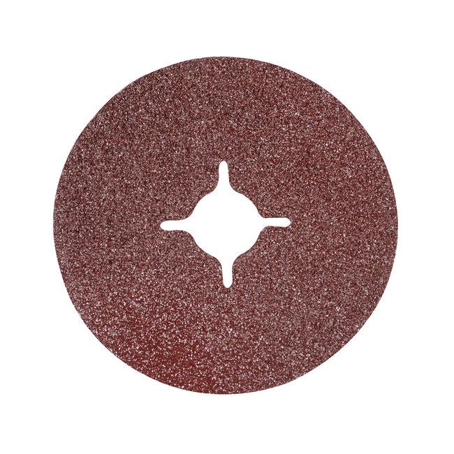 Silverline 115 x 22,23 mm vezel schuurschijven, 10 pak 36 korrelmaat