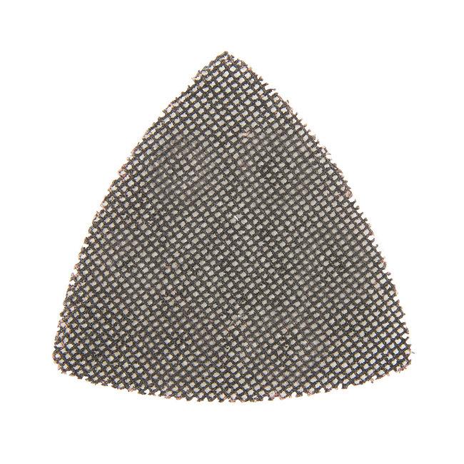 Silverline Driehoekige klittenband gaas schuurvellen, 95 mm, 10 pak 120 korrelgrofte
