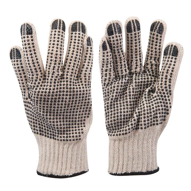 Silverline Dubbelzijdig gestipte handschoenen L 10