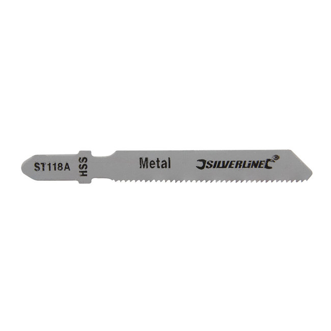 Silverline Decoupeerzaagbladen voor metaal, 5 pak ST118A