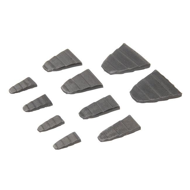 Silverline 10-delige hamerwiggenset