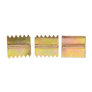 Silverline 3-delige tegelkammen set 25 mm