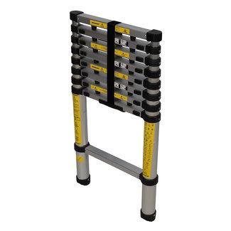Silverline Telescopische ladder 2,9 m, 9 sporten