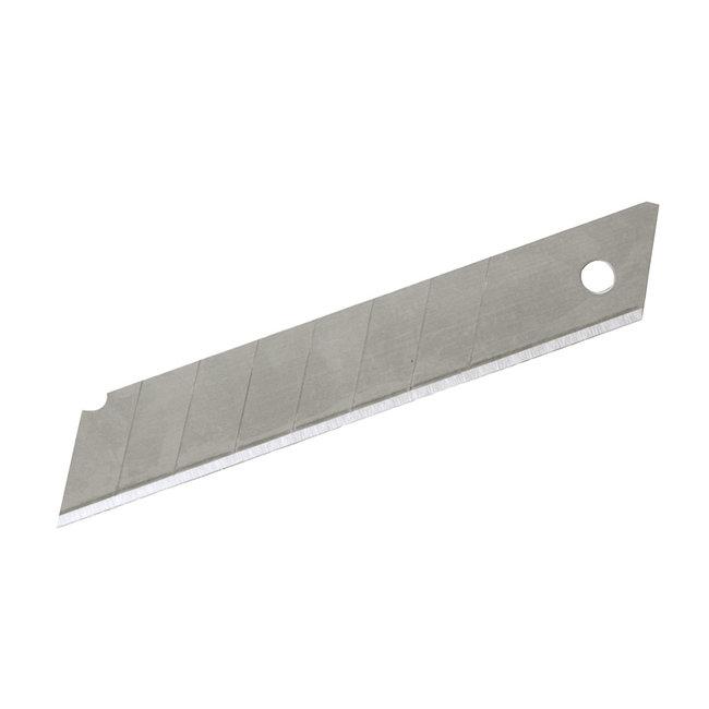 Silverline Afbreekmesjes, 10 pak 18 mm